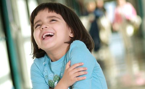 Детский мозг активизируется при виде чего-то смешного