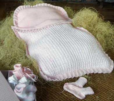 Как сшить конверт для новорожденного