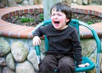 Истерика ребенка не повод для беспокойства