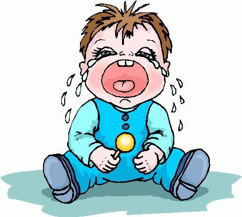 Плачет ребенок рисунок