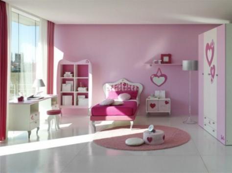 Комната для маленькой леди. Какой должна быть цветовая гамма?