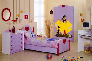 Как красиво оформить детскую комнату?