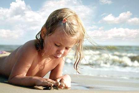 Чем полезно море для детей?