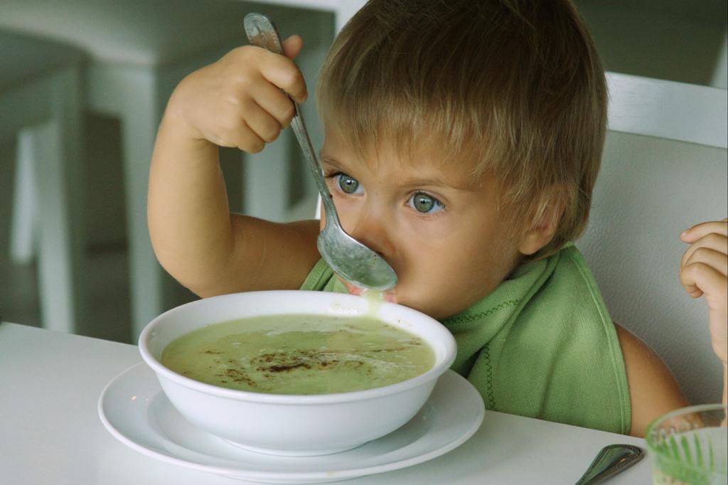 Польза супа в детском рационе