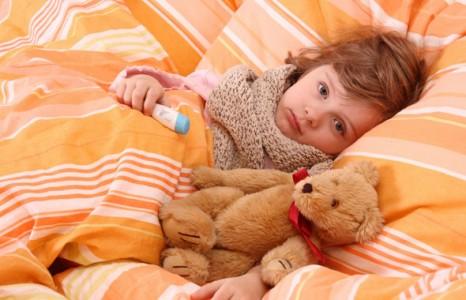 Лечение простуды у ребёнка
