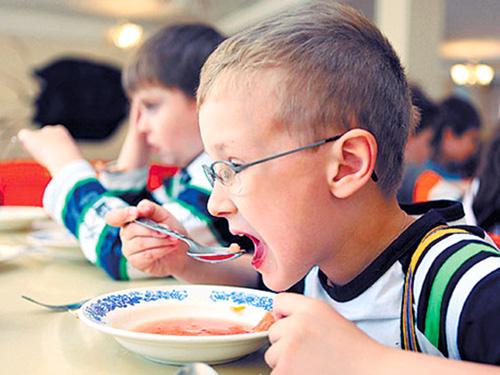 Что едят наши дети
