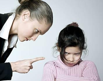 Рак у детей могут вызывать шлепки и крики родителей
