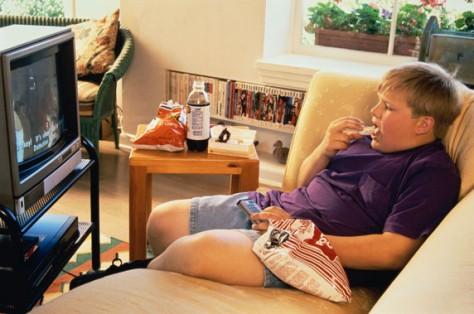 Пассивные дети неизбежно страдают ожирением