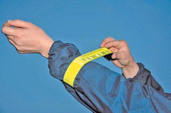 Светоотражатели на одежде защитят детей