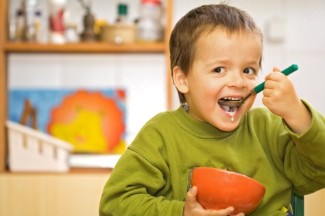 Малышам не стоит отказываться от завтраков