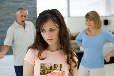 Трудности воспитания подростков