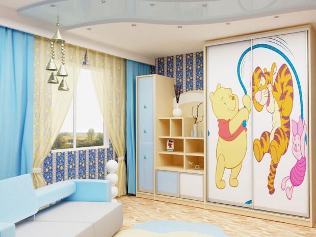Какой шкаф купе лучше всего подойдет для детской комнаты?