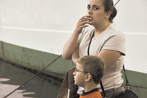 Детям курильщиков грозит опасность получения расстройства психики