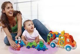 Выбор игрушек согласно возрастной категории
