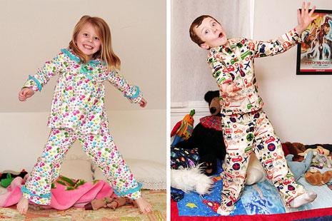 Как выбрать пижаму для ребенка?