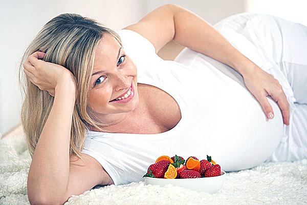 Питание при беременности играет особую роль в развитии психического здоровья малыша