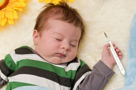Что делать если у малыша поднялась температура