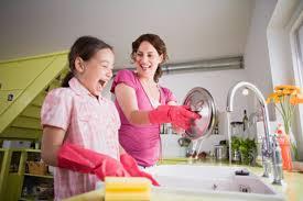 Как приучить ребёнка к работе по дому