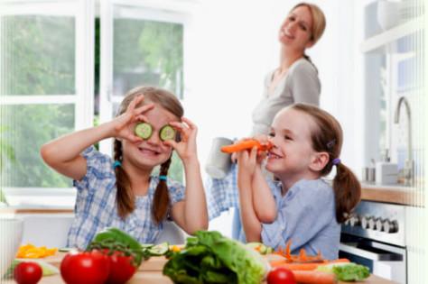 Рацион правильного питания детей