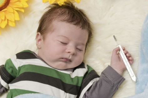 Температура у малыша: как помочь?