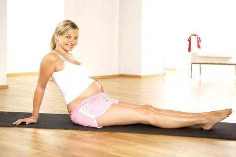 Занятия спортом в период беременности