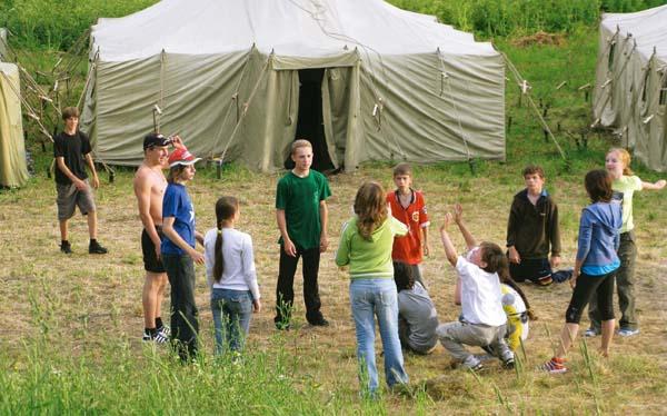 Летний лагерь – отличный выход для работающих родителей