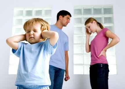 Развод родителей может вызвать ожирение у ребенка