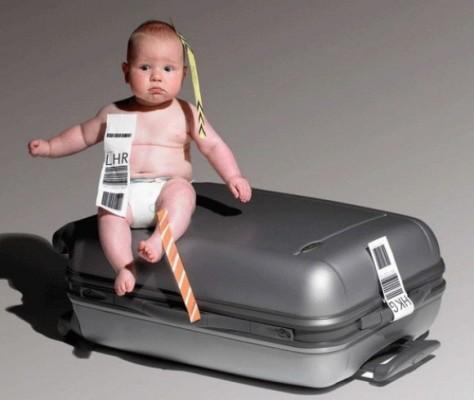 Уход за ребенком во время путешествия