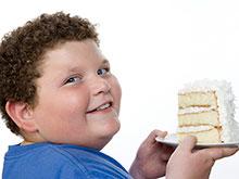 Особенности мозга заставляют тучных детей есть много сладкого