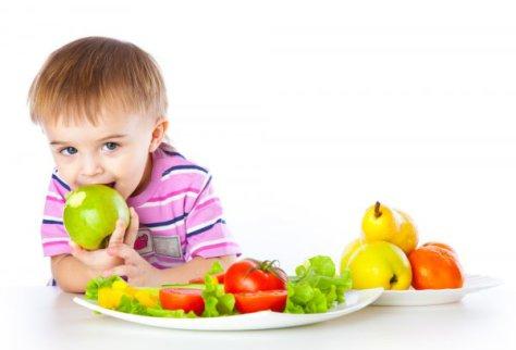Вегетарианская диета может помочь детям с ожирением