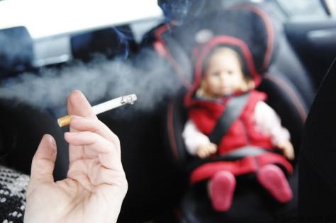 Пассивное курение вызывает у детей агрессию