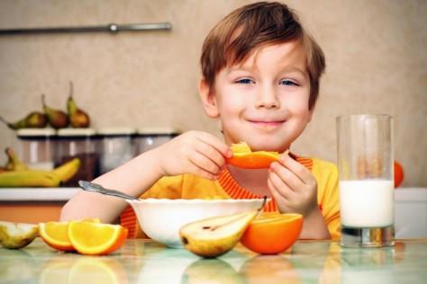 Детей можно обучить здоровому и вкусному питанию