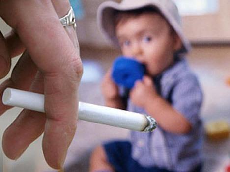 Курение родителей влияет на характер детей