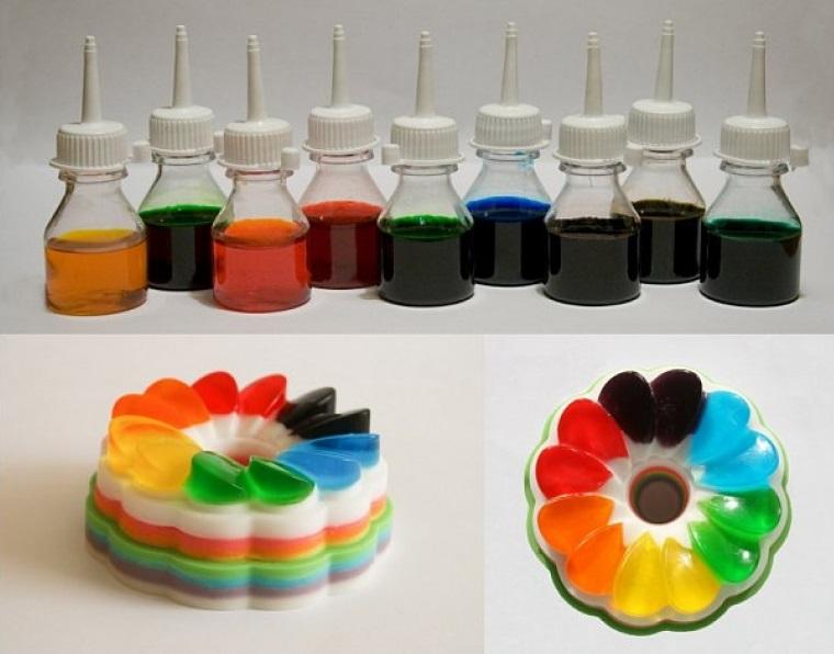 Пищевые красители картинка для детей