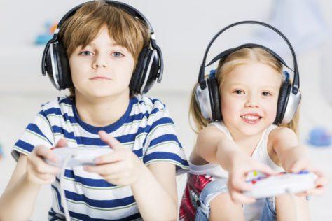 Активные видеоигры оказывают положительное влияние на детский вес