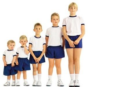У детей с начала 2000 года средний рост уменьшился на 2 см