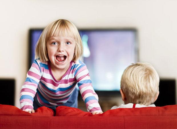 Телевизор вдохновляет детей на физическую активность