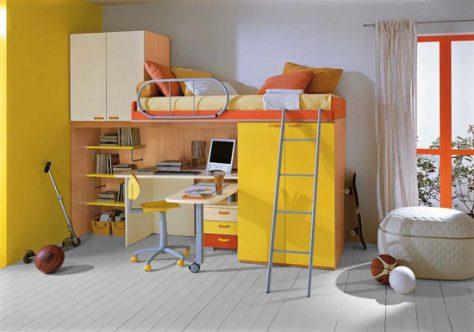 Советы по выбору детской кровати- чердак