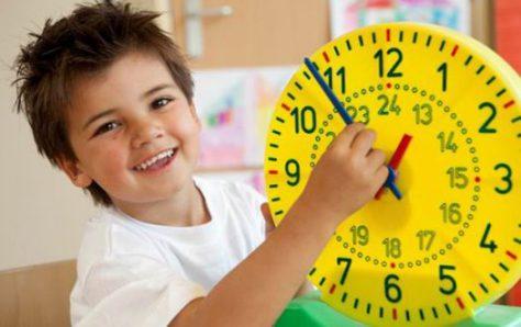Правильный режим дня поможет улучшить поведение ребенка
