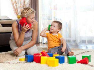 Родители должны играть с детьми