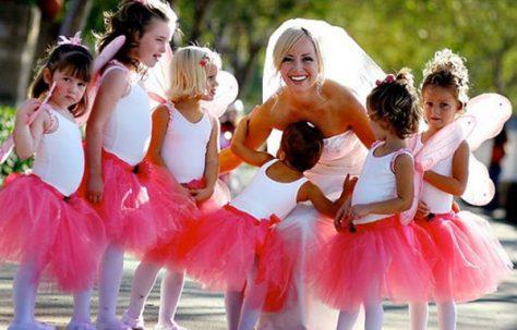 Чем можно занять детей на свадьбе