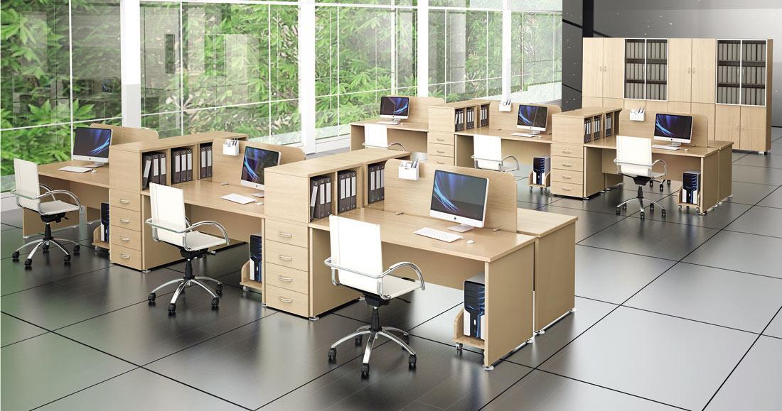 Правильный выбор мебели для офиса