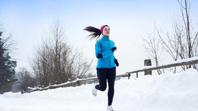 Пробежка в холодное время года