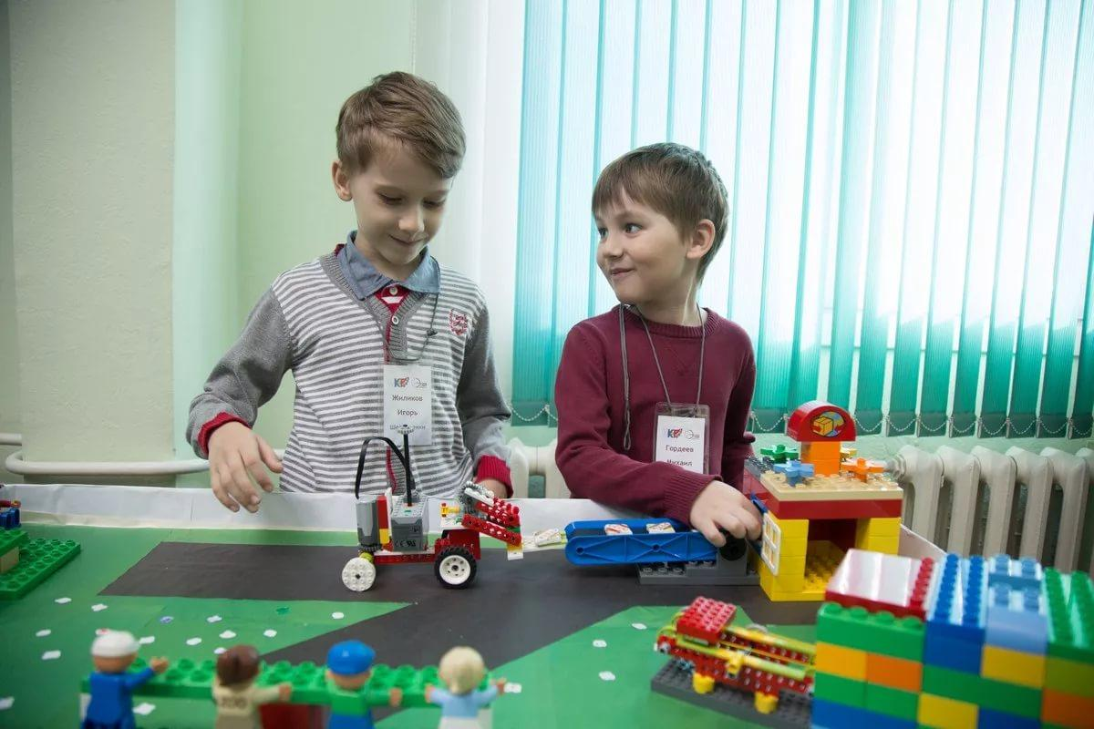 Сложные конструкторы для дошкольников