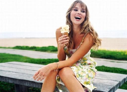Мороженое помогает забеременеть