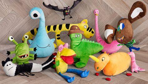 Креативные игрушки для малышей