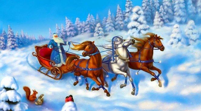 У ребенка не нужно отнимать веру в существование Деда Мороза