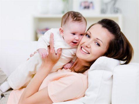 Восстановление после рождения ребенка занимает около года
