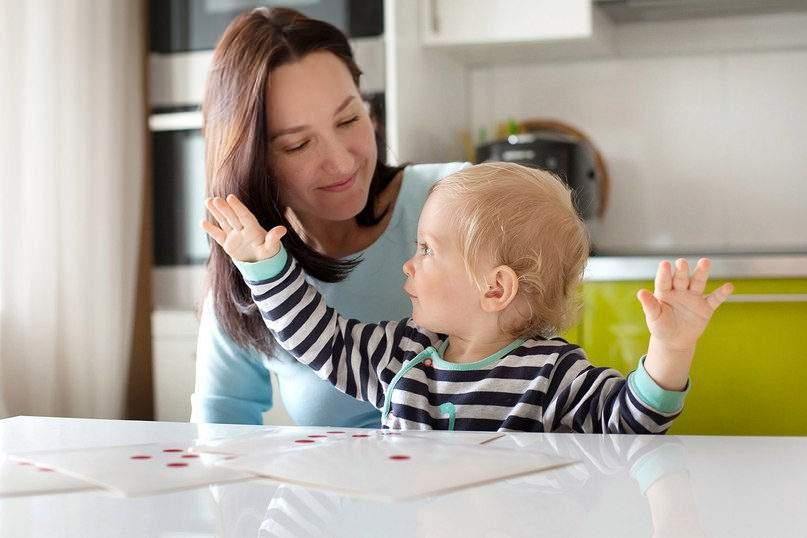 Как за полгода понять, склонен ли младенец к математике