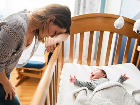 Молодых родителей ожидают 6 лет бессонных ночей